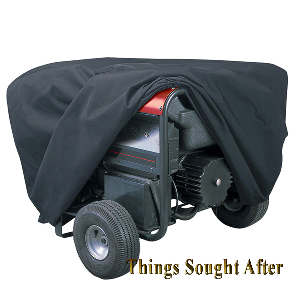 X Large Black Cover For Portable Generator Xl Rv Dust Rain