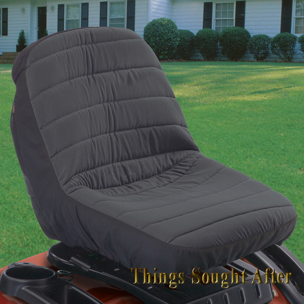 Tractor Seat Storage : Large lawn tractor seat cover for john deere mtd cub cadet