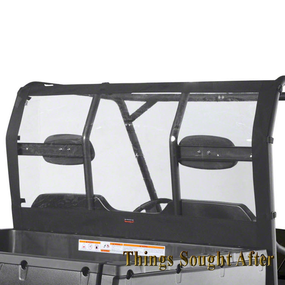 Rear Window For Full Size 2011 Amp 2012 Polaris Ranger 800