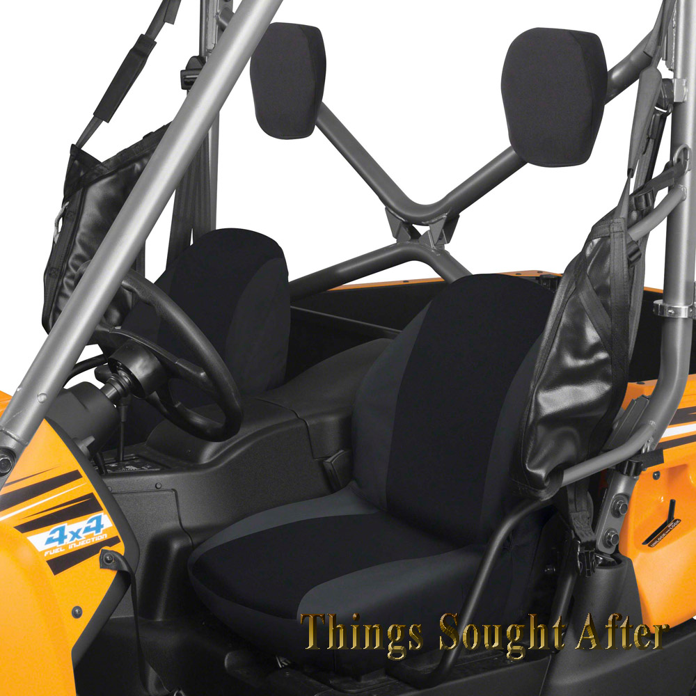 Black Seat Cover For Specific 2008 2009 Kawasaki Teryx 750