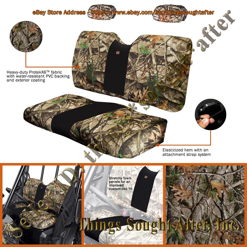Camo Seat Cover For Full Size 2013 Amp 2014 Polaris Ranger