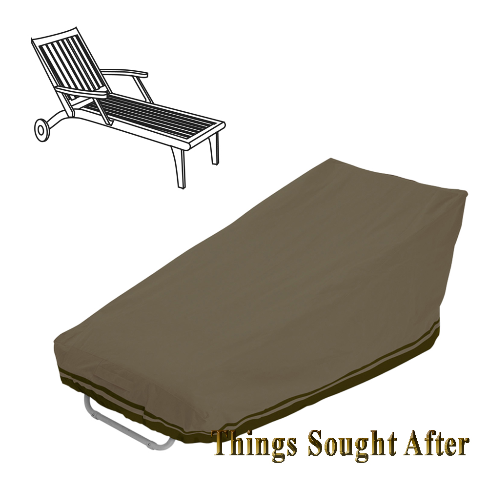 Cover for patio chaise lounge chair outdoor furniture deck for Chaise covers outdoor furniture