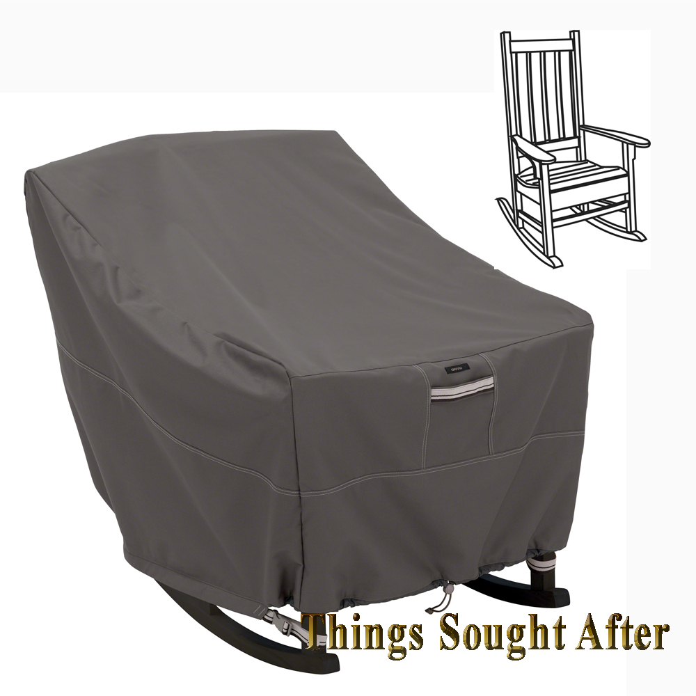 Rocking Chair Outdoor Furniture Cover, In Green 26