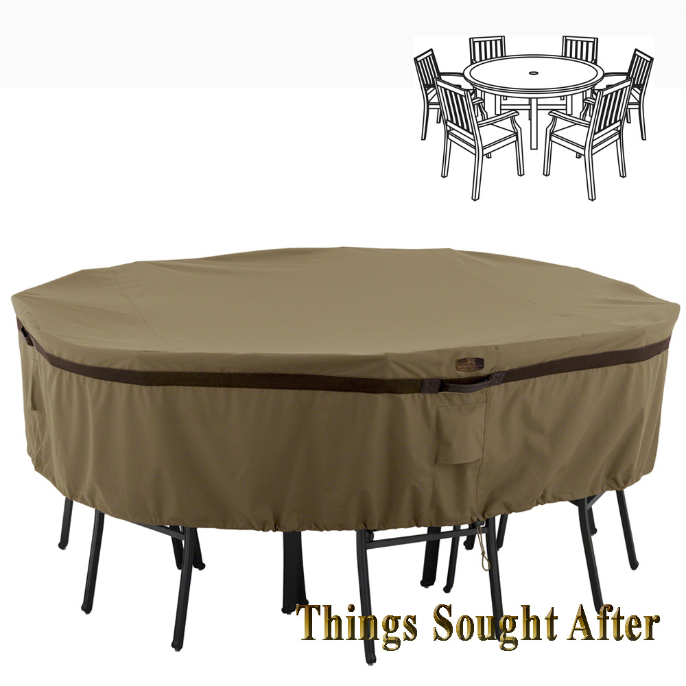 Cover For Large Round Patio Table Amp Chair Set Outdoor