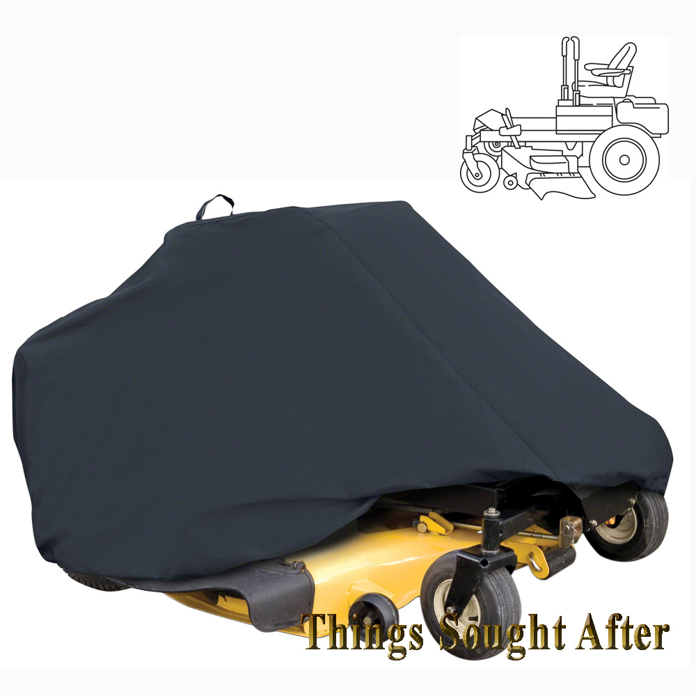 Storage Cover For Medium Size Zero Turn Riding Lawn Mower