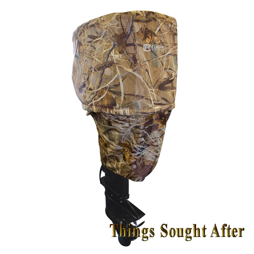 Cover For Outboard Boat Motor Up To15 Hp Storage Realtree