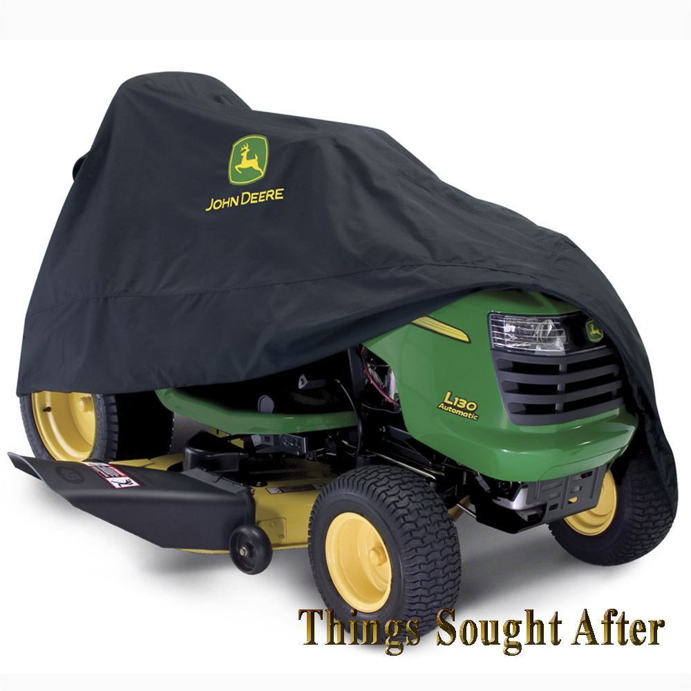 Storage Covers For Tractors : Deluxe storage cover for john deere riding lawn tractor