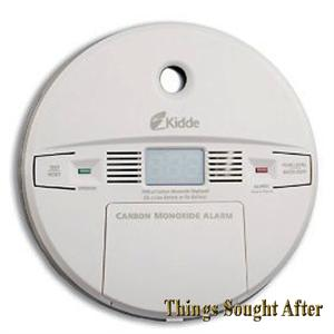 Kidde Carbon Monoxide Alarm Digital Co Gas Detector Wall