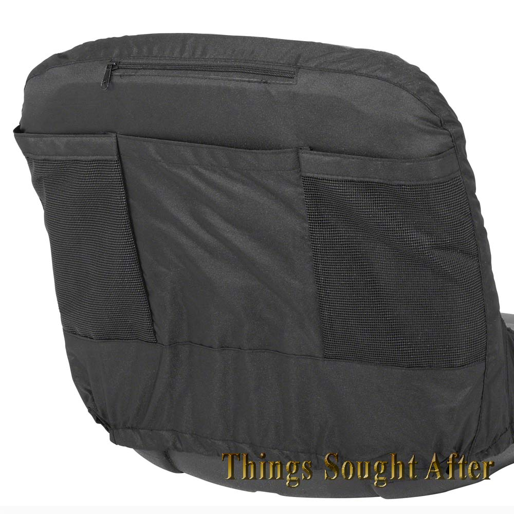 John Deere Riding Mower Seat Covers With Pockets : Large seat cover for lawn tractor riding mower lawnmower