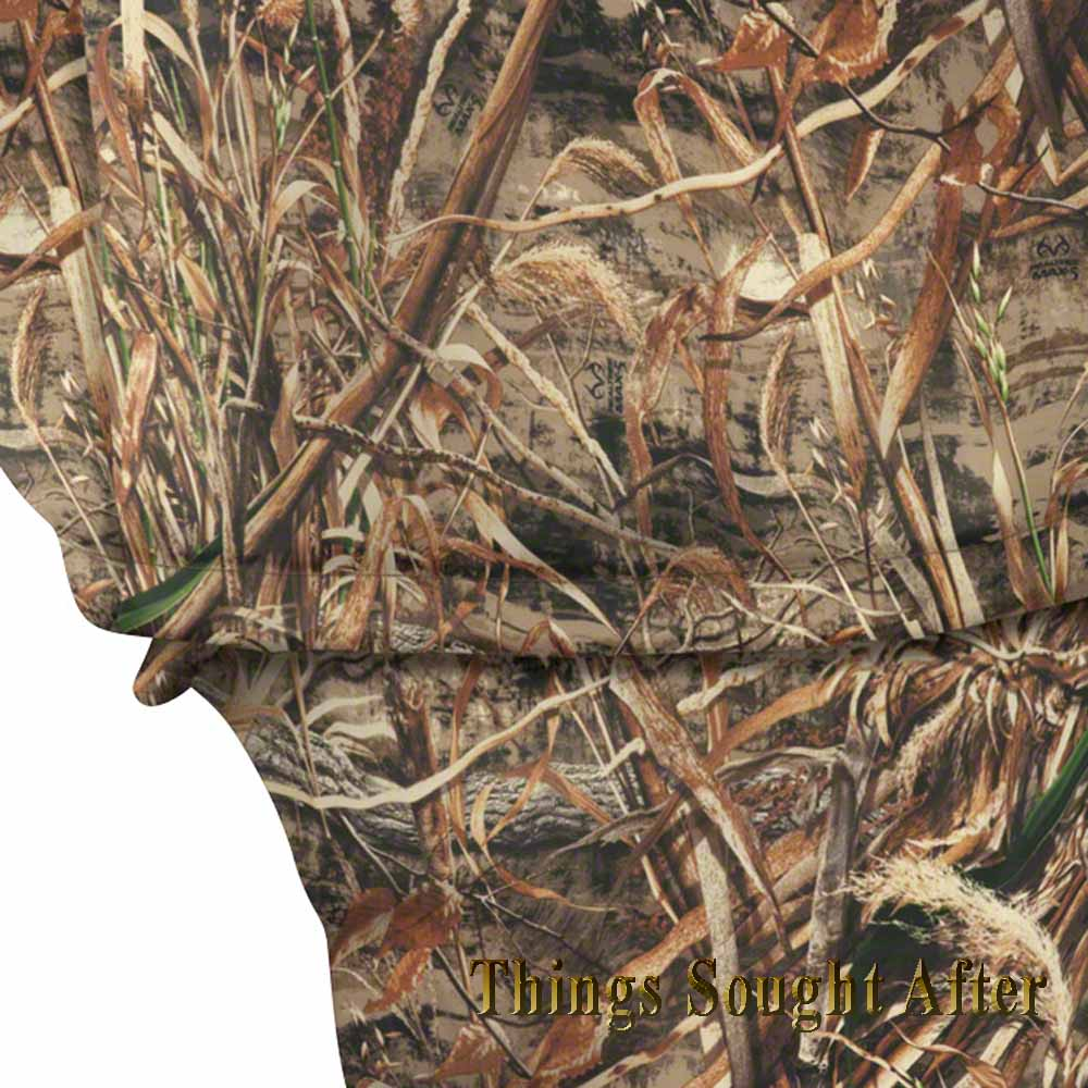 Camo Outboard Boat Motor Cover For Up To 15 Hp Honda