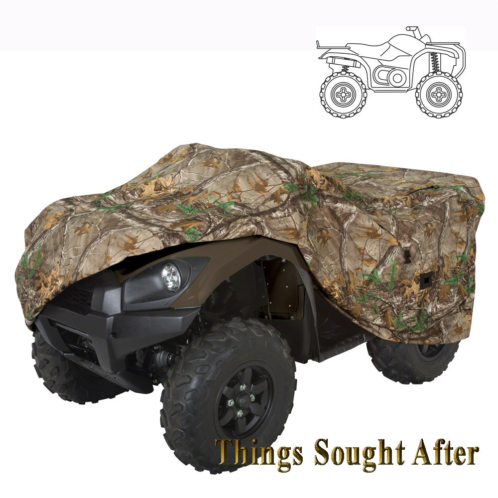 Deluxe Camo Atv Travel Amp Storage Cover For Large 4 Wheeler