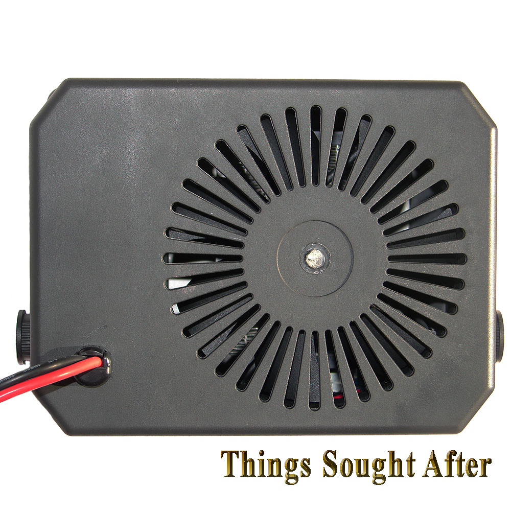 12 Volt 300 Watt Electric Heater W Fan For Utv Cab Golf