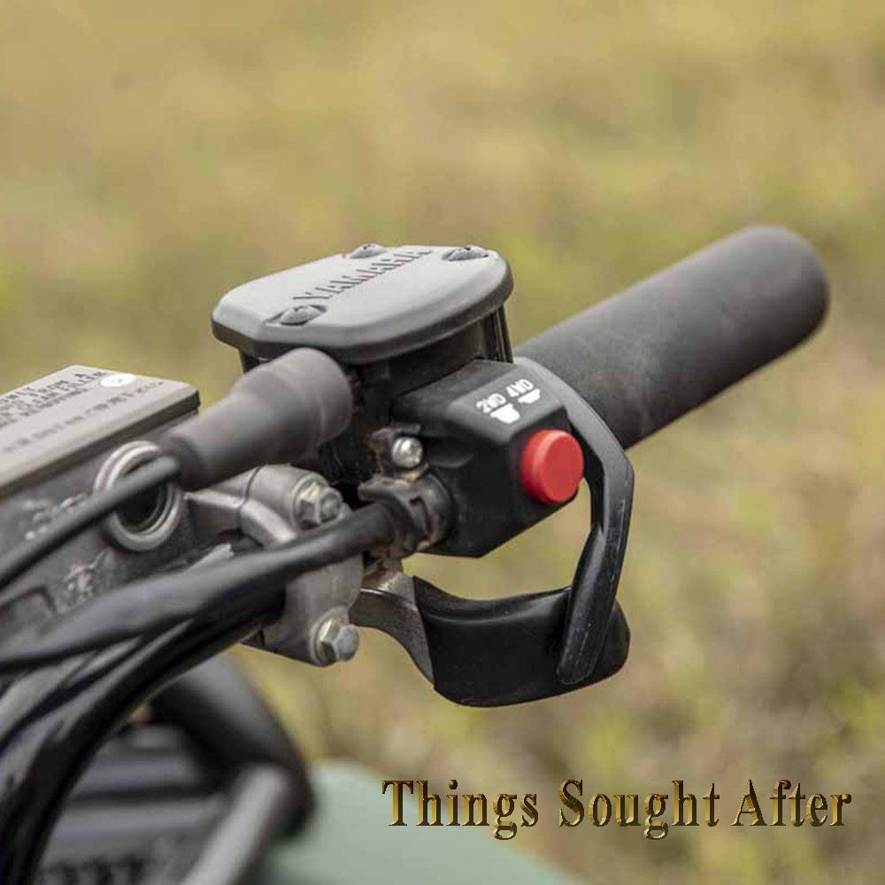KOLPIN HANDY THROTTLE for KAWASAKI ATV Quad Handlebar Twist Grip Thumb Converter